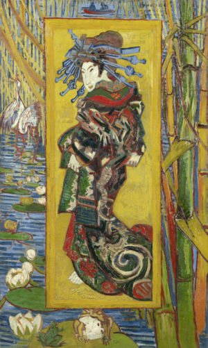 Vincent van Gogh, Courtisane (naar Eisen) Parijs, oktober-november 1887 Vincent van Gogh Museum, Amsterdam