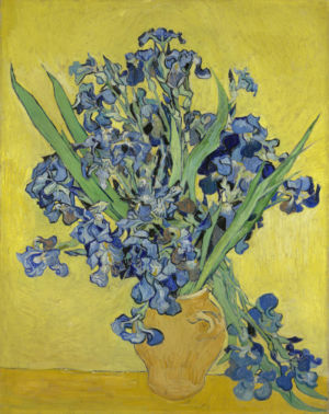 Vincent van Gogh, Irissen, mei 1890, Van Gogh Museum, Amsterdam