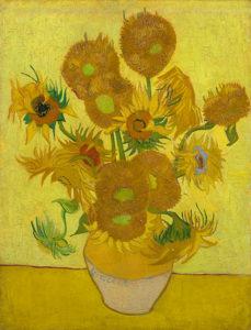 Vaas met vijftien zonnebloemen (Arles, januari, 1889) Van Gogh Museum, Amsterdam. Passen deze zonnebloemen allemaal in deze vaas uit de Provence? Ervaar meer tijdens een privé rondleidng.